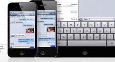 iMessage y FaceTime serán mejorados por Apple en iOS 7
