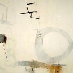 "Hyunmee Lee, dul-dul  48"" x 48""  acrylic on canvas  2011"
