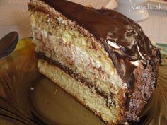 Čokoládovo tvarohová torta