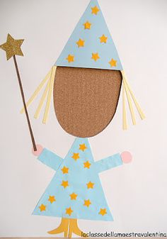Kids can be anything they want.... scissors, glue, colored paper and their dreams!