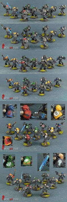 Ordo Xenos Deathwatch Squad