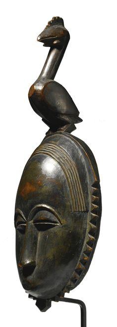 Yaure Mask, Ivory Coast | Lot | Sotheby's