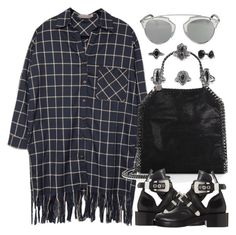 """""""Untitled #3784"""" by maddie1128 ❤ liked on Polyvore featuring STELLA McCARTNEY, BKE, Balenciaga and Christian Dior"""