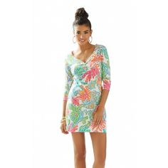 Lilly Pulitzer Palmetto Dress in Casa Marina Excellent used condition, just picked it up from the dry cleaners. Lilly Pulitzer Dresses