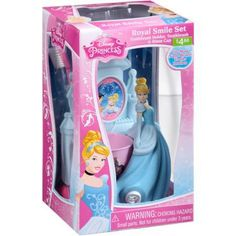 Disney Princess Royal Smile Set, 3 pc Only $4 Disney Princess Royal Smile Set: Toothbrush holder, toothbrush & rinse cup Soft bristles Fits most name brand toothbrushes Ages 3+ <!…