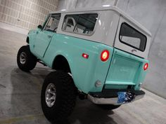 For sale in our Ft. Lauderdale, Florida showroom is a Aqua TK 1971 International Scout 800b 383 C.I.D Stroker V8 TH350 Automatic. Click for more details.