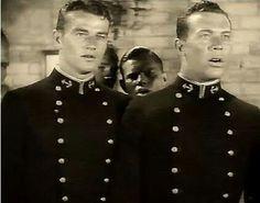 "9/1/1929 ""Salute"" was released. John Wayne & Ward Bond both played midshipman. (JW) http://dunway.com/"