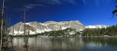 lake at the snopwy mountains by Walter Niederbauer on 500px