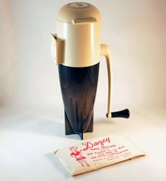Vintage Dazey Rocket Ice Crusher 1950s with Bracket by 833vintage, $25.00