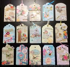 My lovely paper tag crafts  Please visit my FB web site for more art work ideas ^_~ https://www.facebook.com/shoppingageha/  【自製心意卡】【紙膠帶應用】手作心意卡、書簽(2)~ 製作技巧篇 @ ~推坑者們~ :: 痞客邦 PIXNET ::  #tag #papertag #bookmark  #マスキングテープ  #maskingtape #mt #shadowlady #shoppingageha  #enogreetingcard