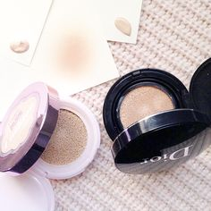 Cushion foundations #foundation  Makeup #makeup  Beauty #beauty beauty blog beauty blogger #beautyblog Dior L'Oréal