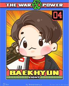 #FANART #THE POWER OF MUSIC  #BAEKHYUN #EXO