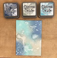 Mixed Media Art Tutorials Tim Holtz 18 Ideas For 2019 Distress Ink Techniques, Art Journal Techniques, Card Making Techniques, Card Making Tips, Embossing Techniques, Tim Holtz Distress Ink, Distress Markers, Distress Oxide Ink, Mix Media