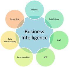 Business Intelligence Components (Venn Diagram)