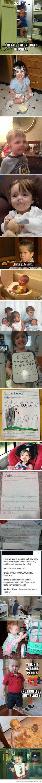 Oh kids…I so want to teach a kid to say he's going to devour the unborn!