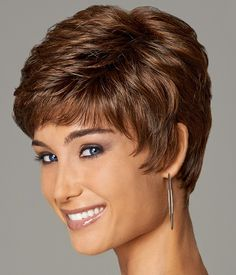 Wigsis provides variety of Easy Auburn Boycuts Wavy Short Wigs with good customer service and fast shipment, including short curly wigs,short brown wig for customer. Short Grey Hair, Short Hair With Layers, Short Hair Cuts For Women, Short Hairstyles For Women, Cut Hairstyles, Gabor Wigs, Short Curly Wigs, Short Layered Haircuts, Haircut Short
