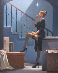 View DANCER FOR MONEY by Jack Vettriano on artnet. Browse upcoming and past auction lots by Jack Vettriano. Jack Vetriano, Estilo Gossip Girl, Collaborative Art, Foto Art, Pulp Art, Canvas Poster, Pin Up Art, Look At You, Erotic Art