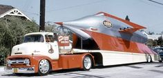 Luer Rocket 1956 Ford COE