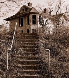 Abandoned house in Cincinnati, Ohio.