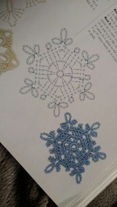 Snowflake 7 - Home Page Crochet Star Patterns, Crochet Snowflake Pattern, Crochet Stars, Crochet Snowflakes, Crochet Angels, Crochet Diagram, Crochet Motif, Crochet Doilies, Crochet Flowers