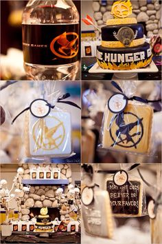 "The Hunger Games ""Catching Fire"" Birthday Party Hunger Games Crafts, Hunger Games Cake, Hunger Games Party, The Hunger Games, Hunger Games Catching Fire, Hunger Games Trilogy, Birthday List, Birthday Parties, Celebrate Good Times"