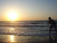my fav photo, sunset over the sea, Crete