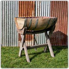 Barrel for bottled waters / I recommend still and sparkling (fav:  Crystal Geyser / Bev Mo)