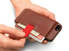 Wally: The iPhone Wallet. Reimagined. by Distil Union, via Kickstarter.