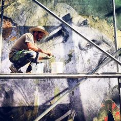 Cuba - street art, project Wrinkles of the City Cuba Street, Street Art News, Street Art Photography, Art Mural, Murals, Influential People, French Artists, Art Projects, Jr