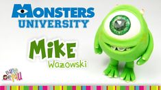Mike Wazowski Polymer Clay Tutorial