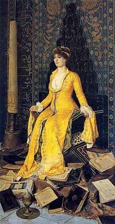 Osman Hamdi Bey, Mihrap, 1901 on ArtStack #osman-hamdi-bey #art