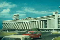 the old MIA airport, one of the best airports in the world in the 60s
