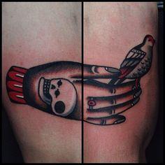 Katya Krasnova as featured on www.swallowsndaggers.com #tattoo #tattoos #hand