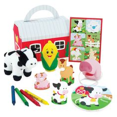 Barnyard Party Favor Box  $5 each
