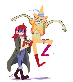 ArtStation - Betty and Magic Man, Alex Johnston Adventure Time Cartoon, Adventure Time Anime, Steven Universe, Really Cool Drawings, Good Cartoons, Jake The Dogs, Bad Friends, Ice King, Cartoon Shows