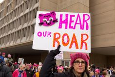 - The Cut: PHOTOGRAPHS OF THE WOMEN'S MARCH IN WASHINGTON BY GILLIAN LAUB