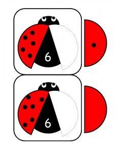 ladybugs math activities printables (12)