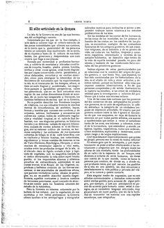 """La revista Gente Nueva en el Año 1901, número 75, Páginas 6 y 7, vuelve a publicar el artículo """"El silbo articulado de La Gomera""""  de  Juan Bethencourt Alfonso"""