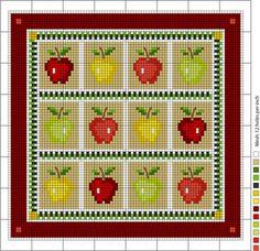 mele-a-punto-croce.jpg (399×386)