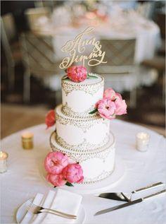 Beautiful #wedding cake for #MammothWeddings.