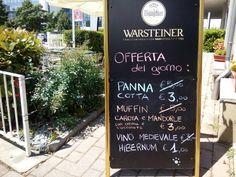 La nostra offerta di oggi insieme al menù pranzo da 7,00 a 12,00 EURO