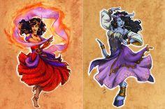 Princesas Disney como personagens de Warcraft | Just Lia