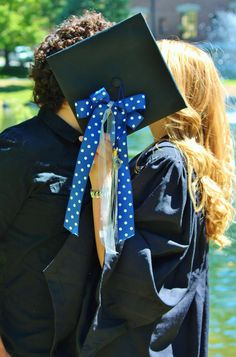 College Graduation Picture Couple 2014. I love photos and having lots of them, memory lane :) Important ones I'm planning: College Graduation, Wedding and then children (maybe)