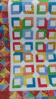 QUILT  GLORY BOXES Beautiful bright colors by DonnaleesTreasures, $80.00