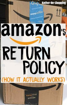Amazon Return Policy: How Exactly Does It Work Best Money Saving Tips, Ways To Save Money, Money Tips, Make Money Online, Saving Money, How To Make Money, Great Lakes Student Loans, Does It Work, It Works