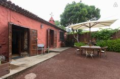 "Check out this awesome listing on Airbnb: ""Casa Begonia"" old canarian house in Tacoronte"
