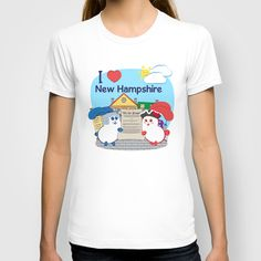 Ernest and Coraline | I love New Hampshire T-shirt