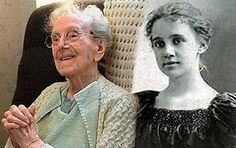 As of Chocoholic American seamstress Sarah Knauss Sept. who lived to the age 119 years, 97 days. Sarah Knauss never drank liquor or smoked tobacco. Ol Days, Good Ol, Never Give Up, Spotlight, Anti Aging, Centenarian, Age, American, Liquor