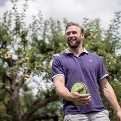 Olympic discus champion poses in Kienbaum - Germany