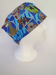 Scrub Hat Theatre Surgical Cap  Guardians of by SnazzyScrubHats